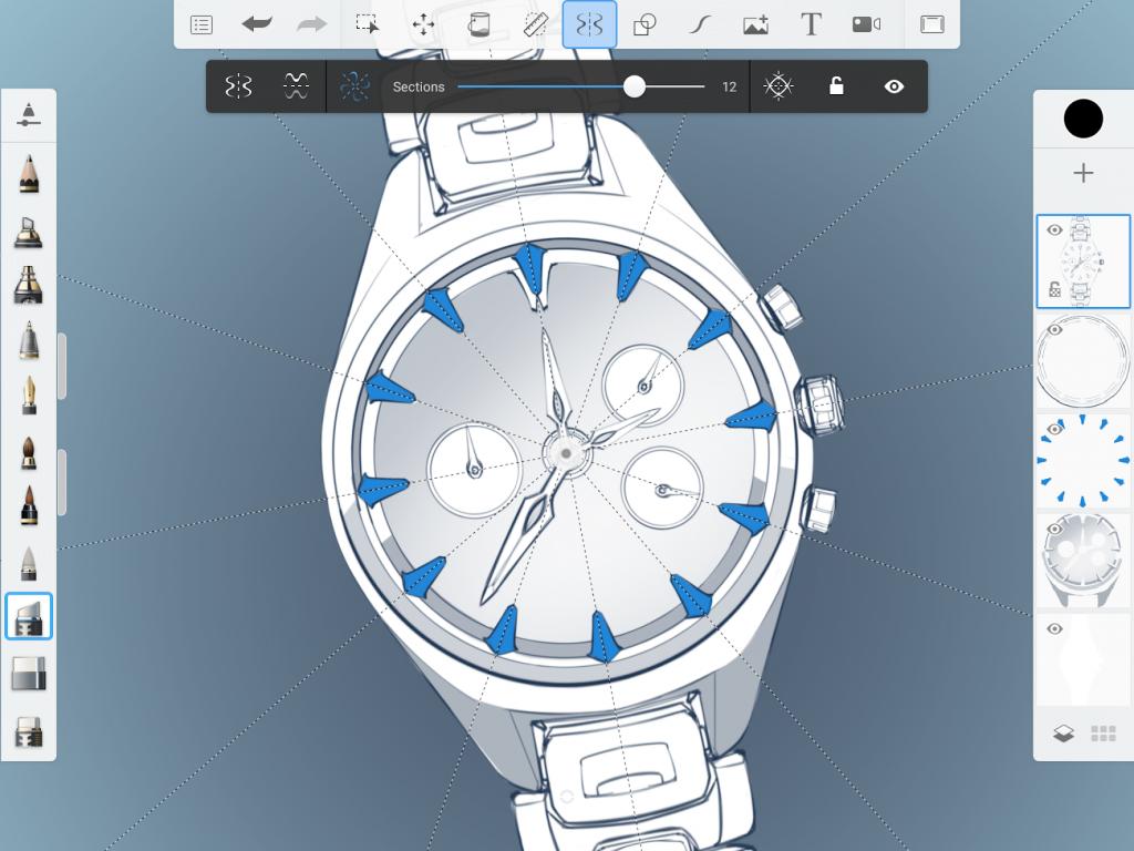 Sketchbook l 39 app completa per disegnare fare schizzi e for App per disegnare casa