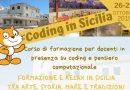 Corso coding residenziale in Sicilia nei luoghi di Montalbano 26-27 ottobre