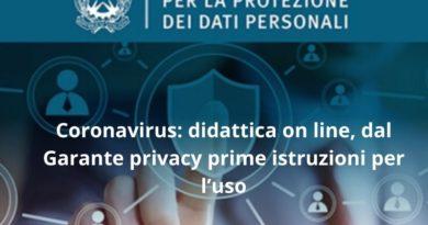 Didattica a distanza e Privacy: il Garante finalmente si esprime, ecco le indicazioni
