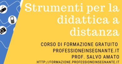 """Corso gratuito """"strumenti per la didattica a distanza"""", oltre 1500 iscritti, c'è tempo entro il 31 marzo."""