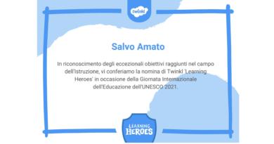 Twinkl Learning Heroes, giornata mondiale dell'educazione – UNESCO, un premio a cui tengo molto
