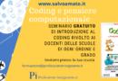 Coding a scuola, il mio seminario introduttivo GRATUITO per le scuole, ecco come prenotarsi entro il 31 ottobre