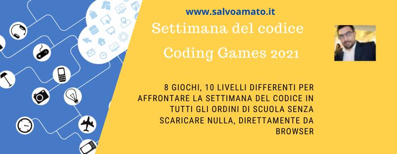 Coding Game: ecco una pagina semplice per la settimana del codice
