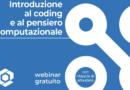 """Coding e pensiero computazionale, ecco il mio webinar gratuito con il gruppo editoriale  """"La Scuola-SEI"""""""