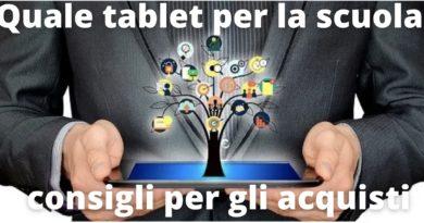 Il tablet del docente: ecco come deve essere. Alcuni consigli chiari e semplici per l'acquisto